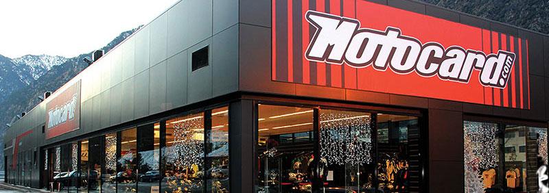 Fachada tienda Motocard