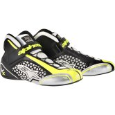 ALPINESTARS Tech 1-KX White / Black / Yellow Fluo