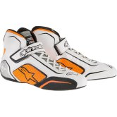 ALPINESTARS Tech-1 T White / Orange Fluo