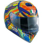 AGV K-3 SV Pinlock Rossi Five Continents