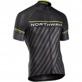 NORTHWAVE Logo 3 Black / Yellow Fluo