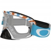 OAKLEY O2 MX RPM Orange / Blue Clear